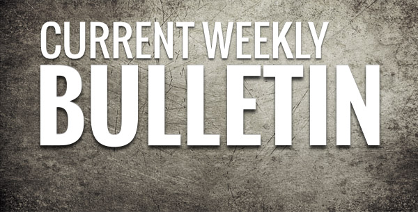 current weekly bulletin